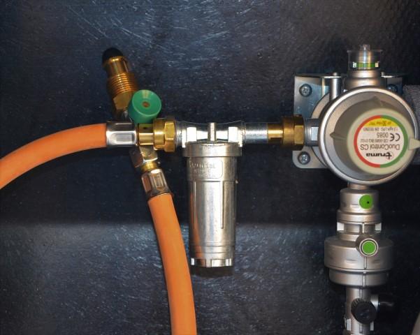 gassflasker med industrikobling